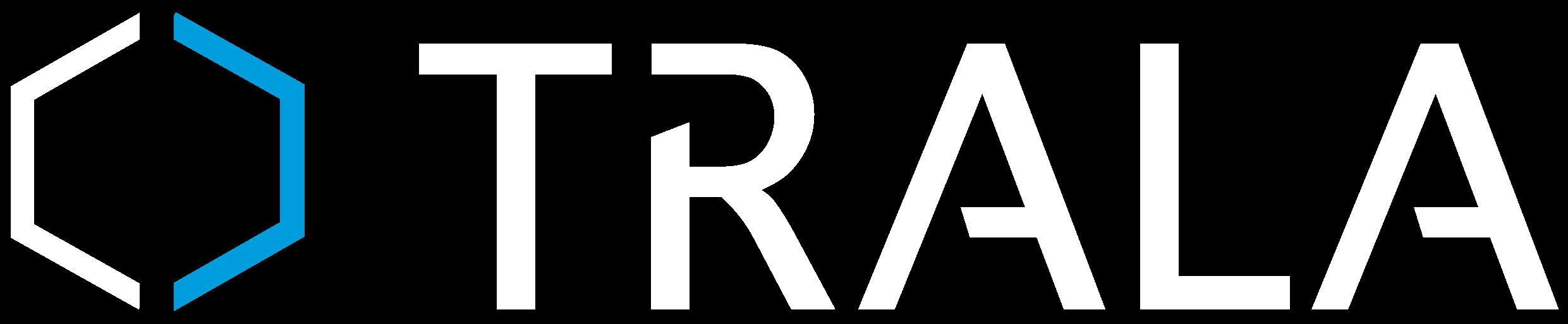 Trala Automaatio Oy:n valkosininen logo.